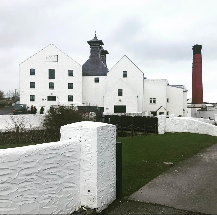 An islay whisky distillery